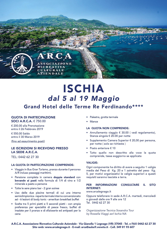Gita ad Ischia – Arca Legnago